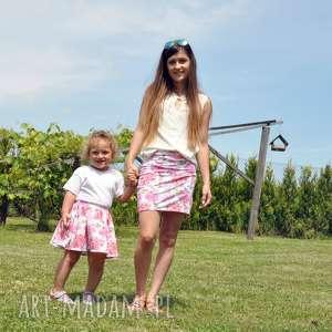 Komplet spódniczek dla mamy i córki różowy KOLIBER, dlamamyicórki, komplet, koliber