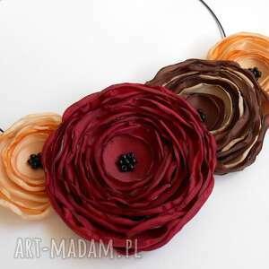 Prezent Kwiatowa kolia, kwiaty, naszyjnik, kobieta, biżuteria, prezent
