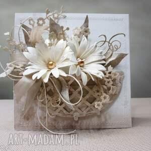 W koszu - kartka w pudełku, ślub, urodziny, gratulacje, podziękowanie