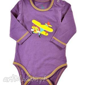 body dziecięce Samolocik Tulimi, body, dziecko, chłopiec, dziewczynka