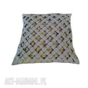 poduszka ozdobna canadian origami szara, origami
