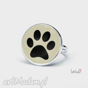 pierścionek łapka, pupil, zwierzątko, pies, kot, regulowany, prezent