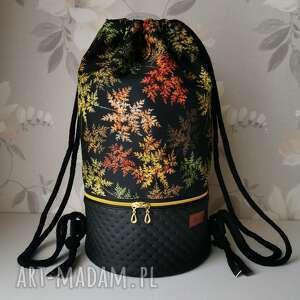 Plecak workoplecak wodoodporny z okrągłym dnem torba na ramię