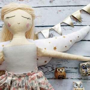 Pani anioł lalki peppofactory anioł, tilda, lalka, szmaciana