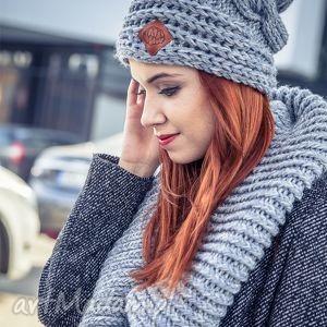 this is it szarość poranka - jesień, zima, czapka, handmade, włóczka