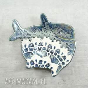 mydelniczka - wieloryb, mydelniczka, łazienka, morskie, ryba