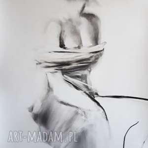 woman, duży-obraz, kobieta-rysunek, kobieta-obraz, czarno-biała-grafika