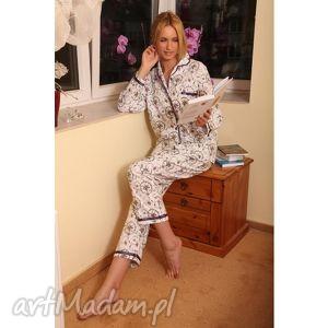 piżama mka, bielizna, nocna, piżama, flanela, rękodzieło