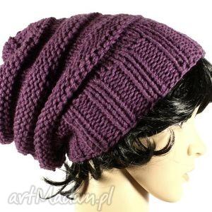 handmade czapki czapka wrzosowa