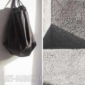 hand made worek black