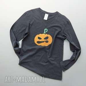 HALLOWEEN: METALLIC PUMPKIN bluzka męska, bluzka, meska, długi, rękaw, halloween
