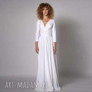 klasyczna suknia - megan, sukienka ślubna, sukienka