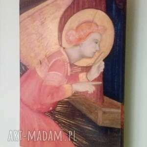 Ciiiii ineverashop anioł, anioł-stróż, obraz, aniołek, malarstwo