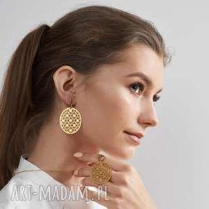 naszyjniki naszyjnik casual w kolorze złota z orientalnym wzorem model elpis
