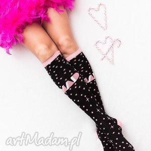 skarpetki sportowe mad socks pink stardust, skarpetki, prezent, rower, sport