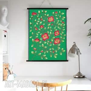 plakat a2, plakat, kwiaty, obraz, sztuka, ilustracje