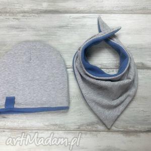 bukiet-pasji ciepły zimowy komplet czapka i komin, polar, zima, szal