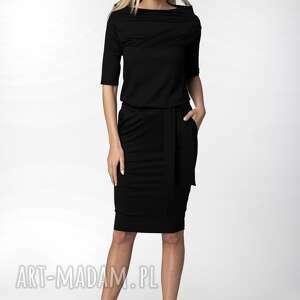 sukienka julia, elegancka sukienka, zbluzowana, dopasowana