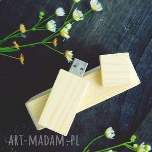 Pendrive - Sosna 1 16 GB Czyste, pendrive, drewno