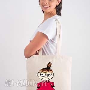hand-made licencjonowana torba muminki z długim uchem mała