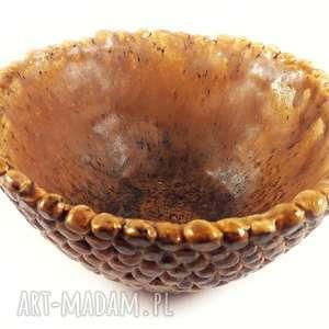 ceramika miska ceramiczna z kulek, ceramika, handmade, miska, glina