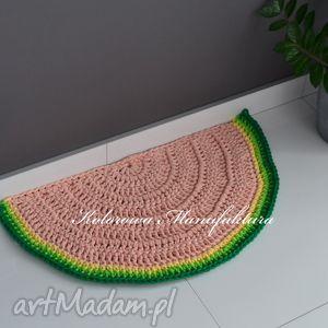 dywan arbuz 100cm, arbuz, dywan, dywanik, mata, dziecko dla dziecka