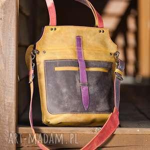 handmade na ramię torebka skórzana ręcznie robiona navahoclothing