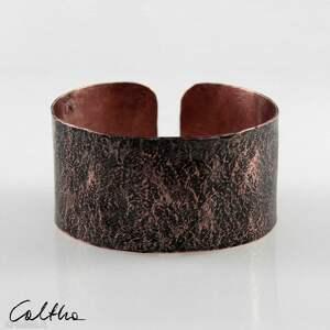 Kamień - miedziana bransoletka 200207 -01 caltha bransoletka