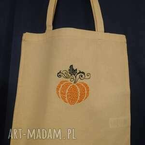 święta, torba ekologiczna dynia, ekologiczna, eko torba, bawełniana
