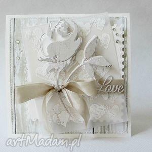 unikalny, z różą, ślub, walentynka, róża, miłość, życzenia, oświadczyny