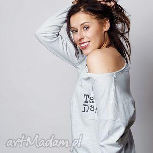 hand-made bluzki ta da! damska bluzka z kieszonką długi rękaw