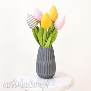 handmade dekoracje tulipany