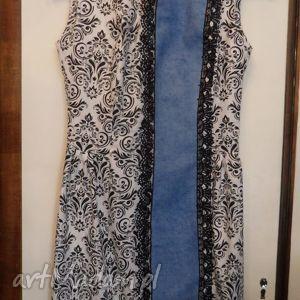 sukienki folk design - biała sukienka, folk, design, biała, góralska