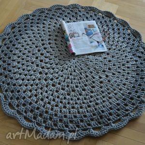 dywan ażurowy dla p doroty, dywan, okrągły, ażurowy, chodnik, prosty