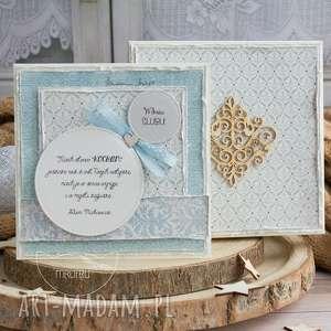 ręcznie wykonane scrapbooking kartki wyjątkowa warstwowa kartka ślubna w pięknym