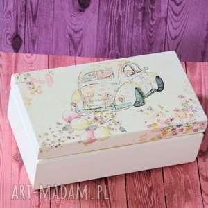 pudełko - just married ślub, pudełko, miłość, obrączki, rocznica, drewno