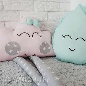 poduszka w kształcie kropli - kropla, dekoracja, poduszka