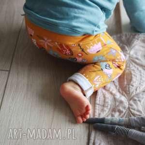 spodenki dla dziewczynki lato 74-98 cm, kolorowe spodenki, bawełniane spodnie