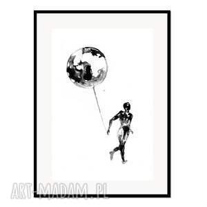 liquid mind 3, plakat autorski 50/70 cm, plakat, autorski, grafika