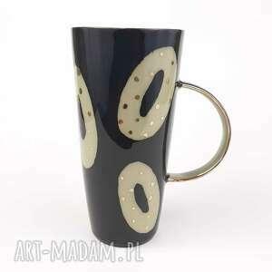 kubek do herbaty - ceramika artystyczna, ceramika autorska kamionka