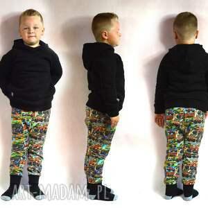 czarna ciepła bluza dziecięca, rozmiary 68-128, bluza