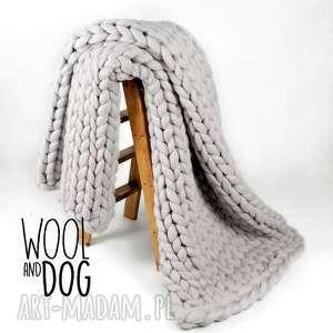 zamówienie dla pani agaty, wełna, merino, wool, koc, pled, blanket