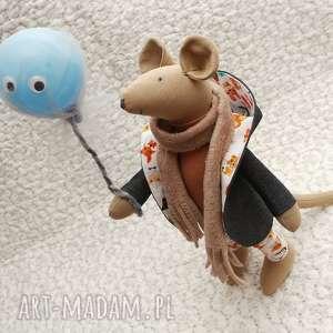 Imprezowa Mysz , mysz, zwierzątka, szczur, roczek, urodziny, przytulanka