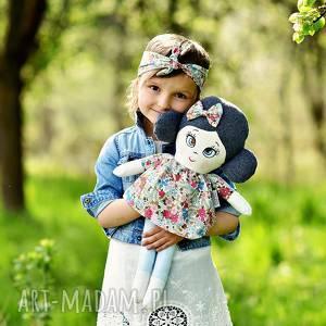 Prezent Lalka szmaciana Aurelia (opis pudełko), lalka-szmacianka, lalka-handmade