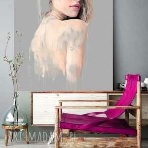 obraz na płótnie i 100x100 cm niewiem, obraz, dekoracja, nowoczesny, wnętrze