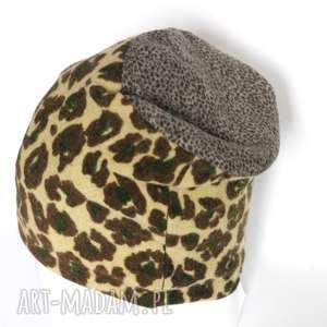 czapka wełniana moro pantera, czapka, moro, prezent, wełna, narty