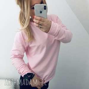 Bluza różowa raglanowa, bluza, bluza-damska, damska-bluza, bluza-rożowa