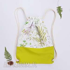 handmade plecaki leśny plecak