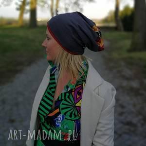 hand-made czapki czapka wiosenna damska