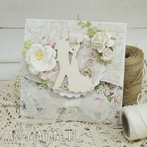 Kartka ślubna w pudełku, 194 - ,ślub,kartka,ślubna,